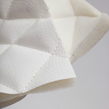 Polymer Material - Quilted textile & foam backing