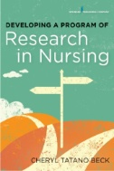 Developing a Program of Research in Nursing cover