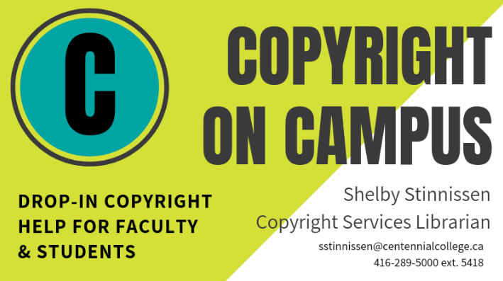 Copyright on Campus Copyright Help for Faculty and Students