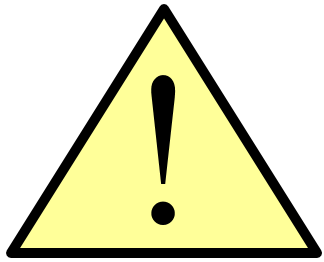 warning icon