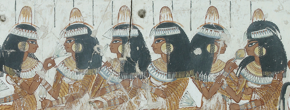 Egyptian tomb painting. Courtesy: British Museum