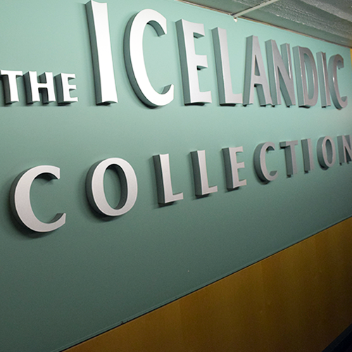 Icelandic Collection Sign