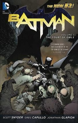 Batman, volume 1: the court of owls by scott snyder