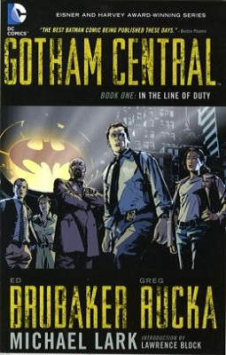 gotham central volume 1 by ed brubaker