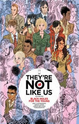 They're not like us, vol. 1: black holes for the young by eric stephenson