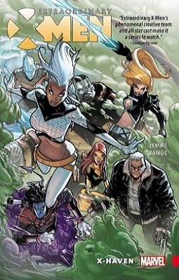Extraordinary X-men : X-haven by jeff lemire