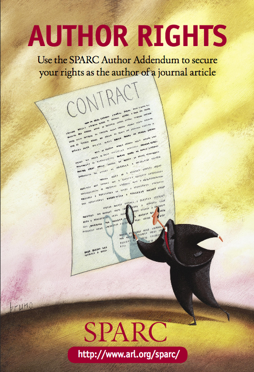 Author Rights (SPARC) poster