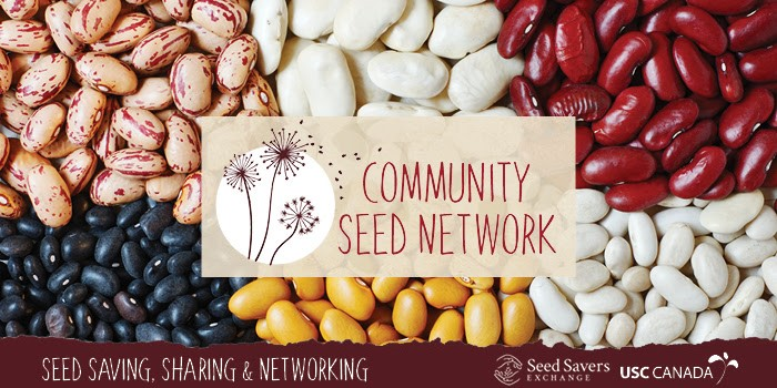 Community Seed Network, logo and seed image
