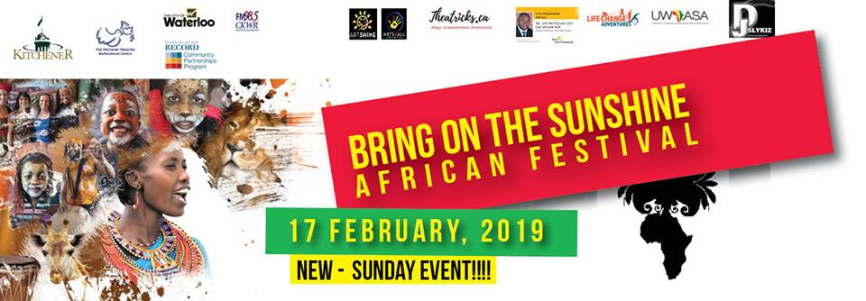 Bring on the Sunshine African Festival