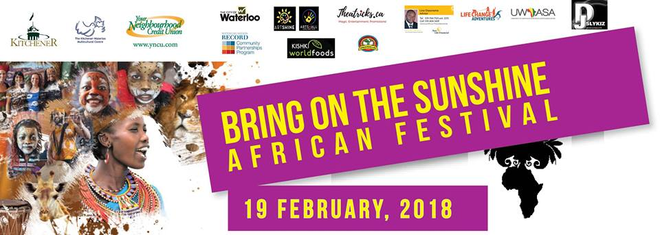 Bring on the Sunshine African Festival 2018