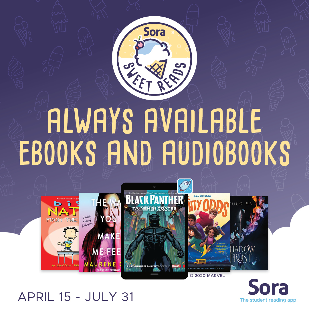 Sora Sweet Reads April 15 - July 31