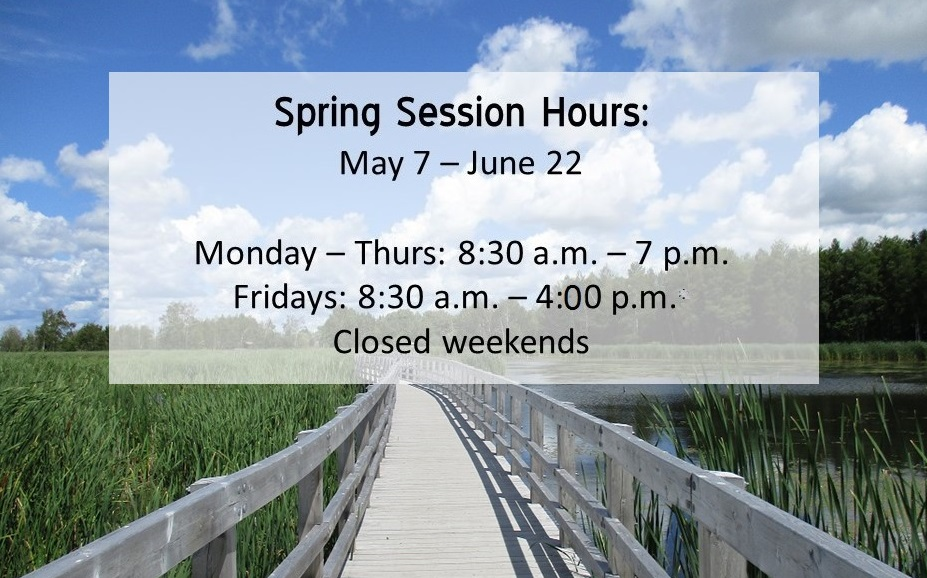 Spring Session Hours