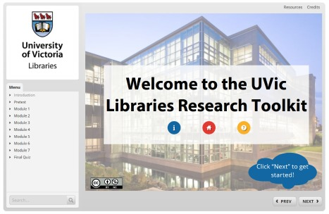 UVic Libraries Toolkit