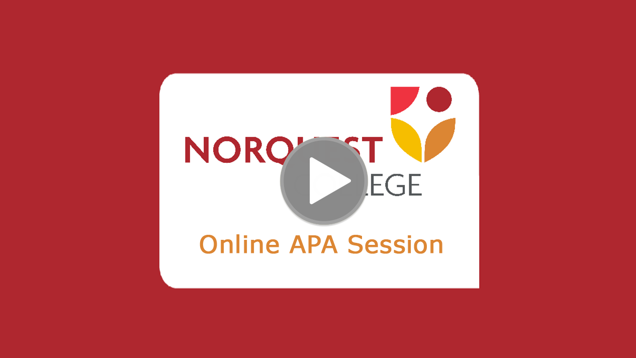 Home apa 6th edition research guides at norquest college apa online session introductory instruction ccuart Images