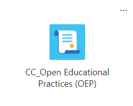 open educational practices team icon