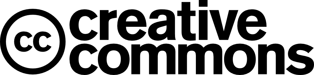 Creative Commons logo in black text