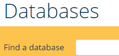Queen's University Library Database of Databases