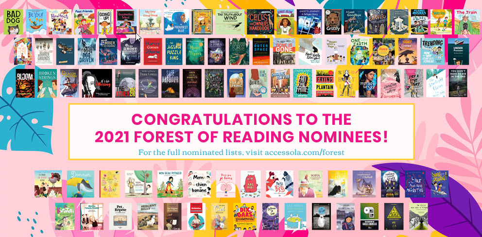 Forest of Reading covers 2021