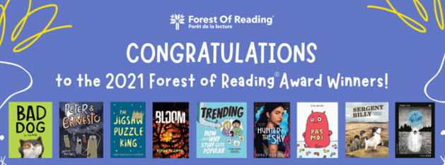 image for forest of reading winners