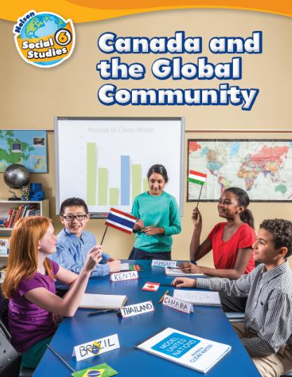 nelson social studies 6 cover