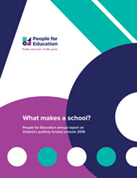 People for Education Report