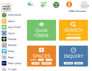 TDSB Virtual Library image