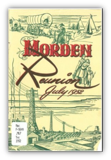 Cover of Morden: Reunion, July 1952