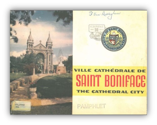 Cover of Ville Cathédrale de Saint Boniface. The Cathedral City