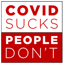 Covid Sucks People Don't podcast logo