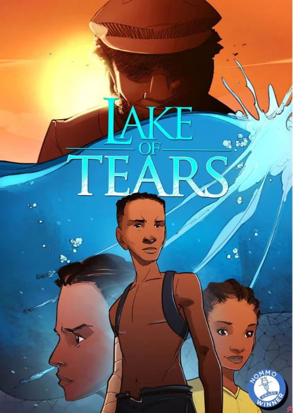 Cover of Lake of Tears comic book, published by Kugali