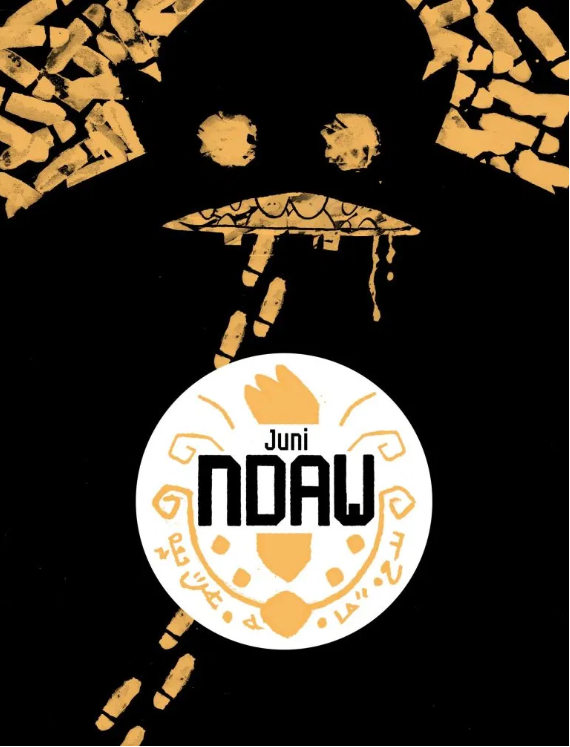 Cover image from the Kugali comic Ndaw