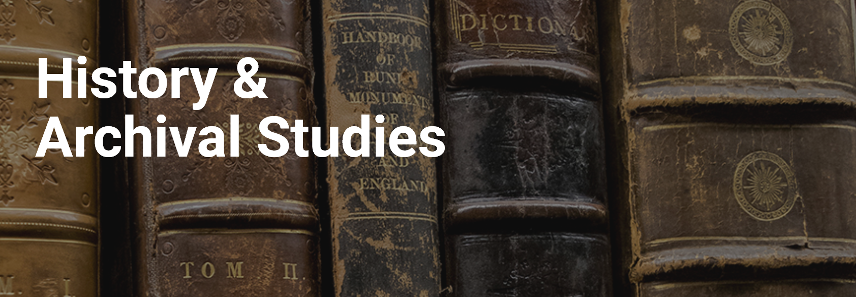 History and Archival Studies