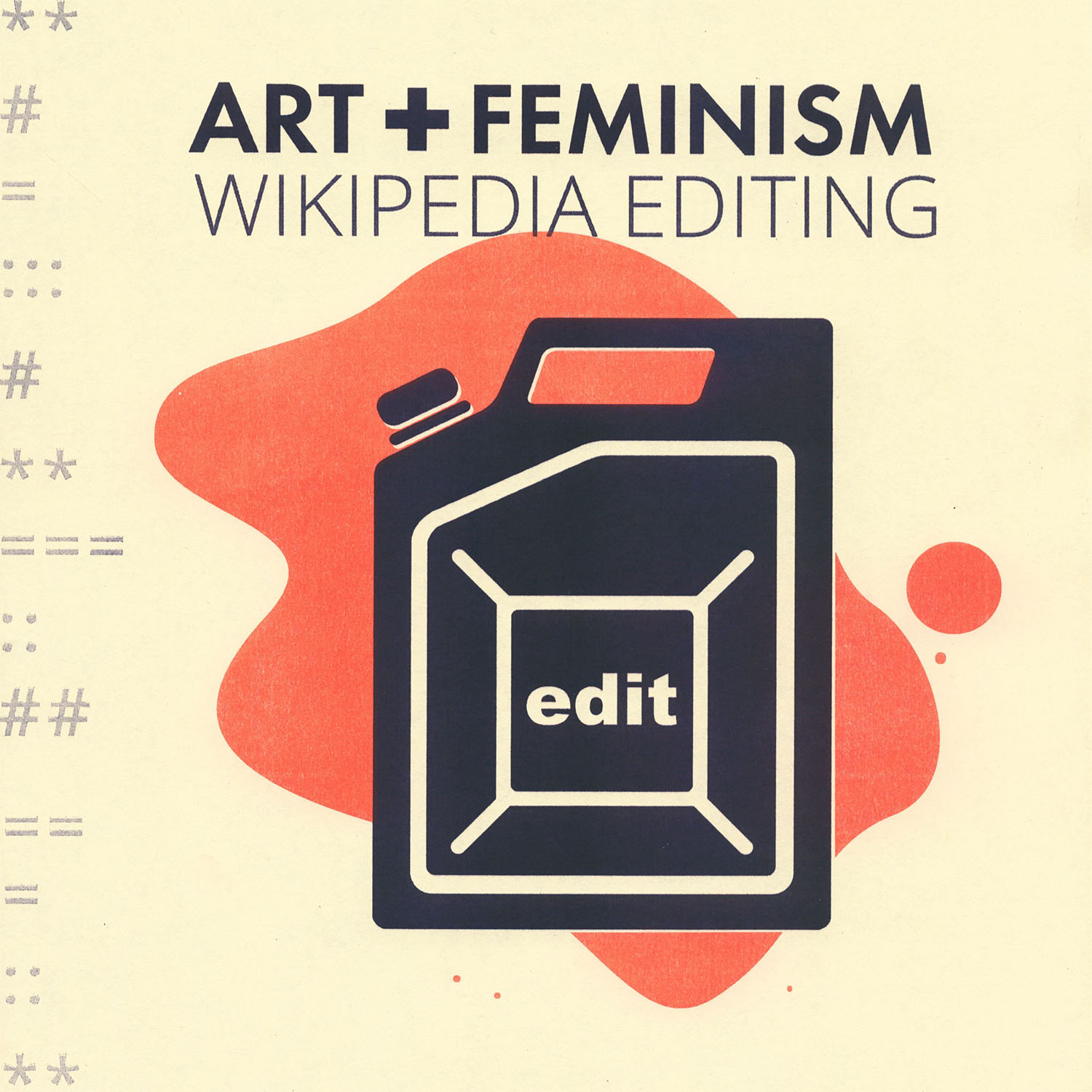 Art + Feminism Wikipedia Editing