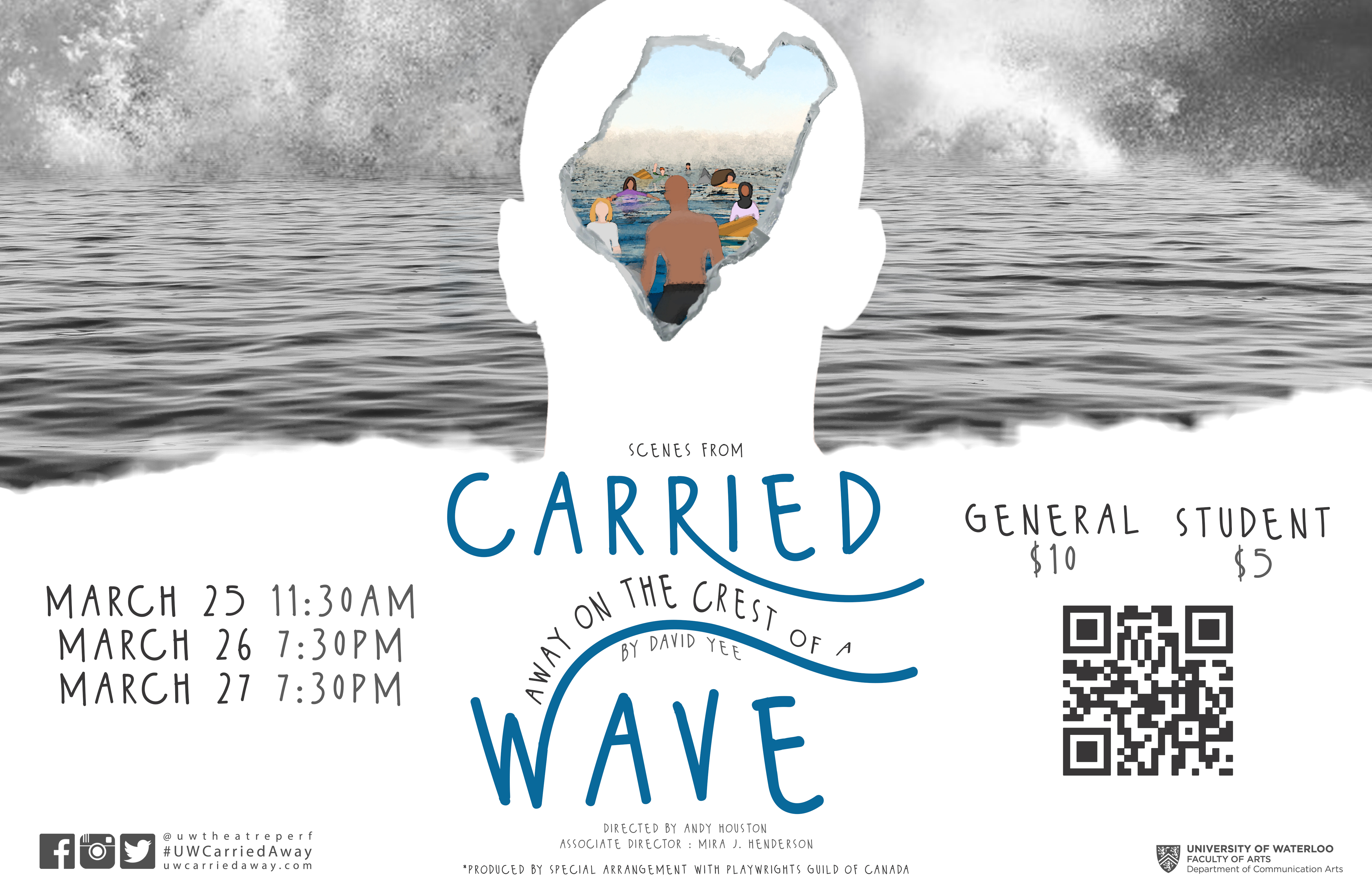 poster for the theatre production: Carried Away