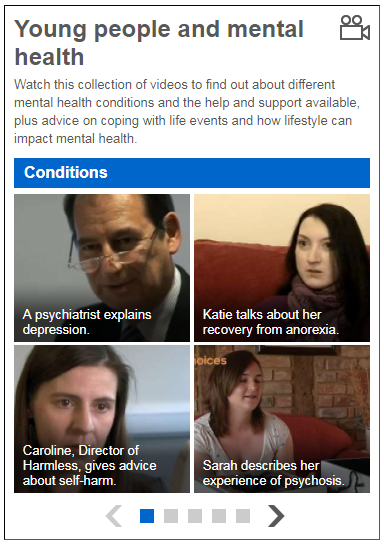 Young People and Mental Health Collection