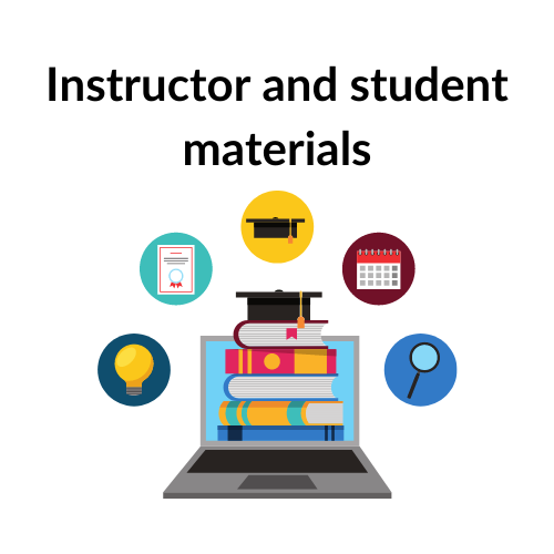 Instructor and student materials