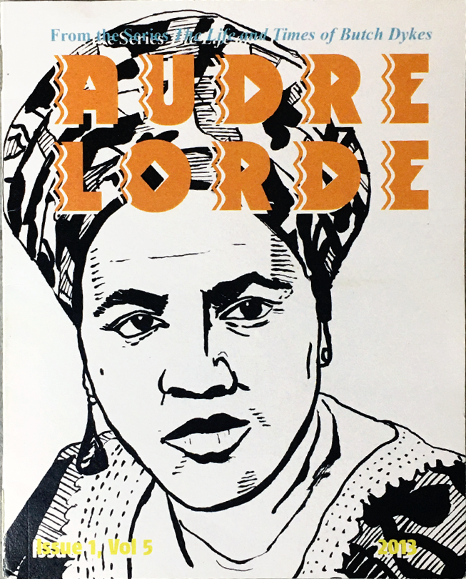 Cover Art for the zine Audre Lorde