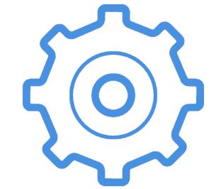 vector image of gear