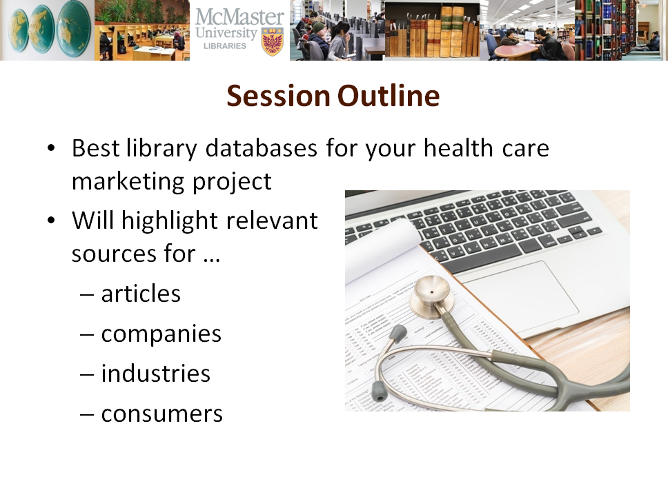 Library Slides for COMMERCE 4CA3