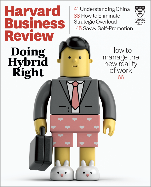 Harvard Business Review - May/June 2021 cover