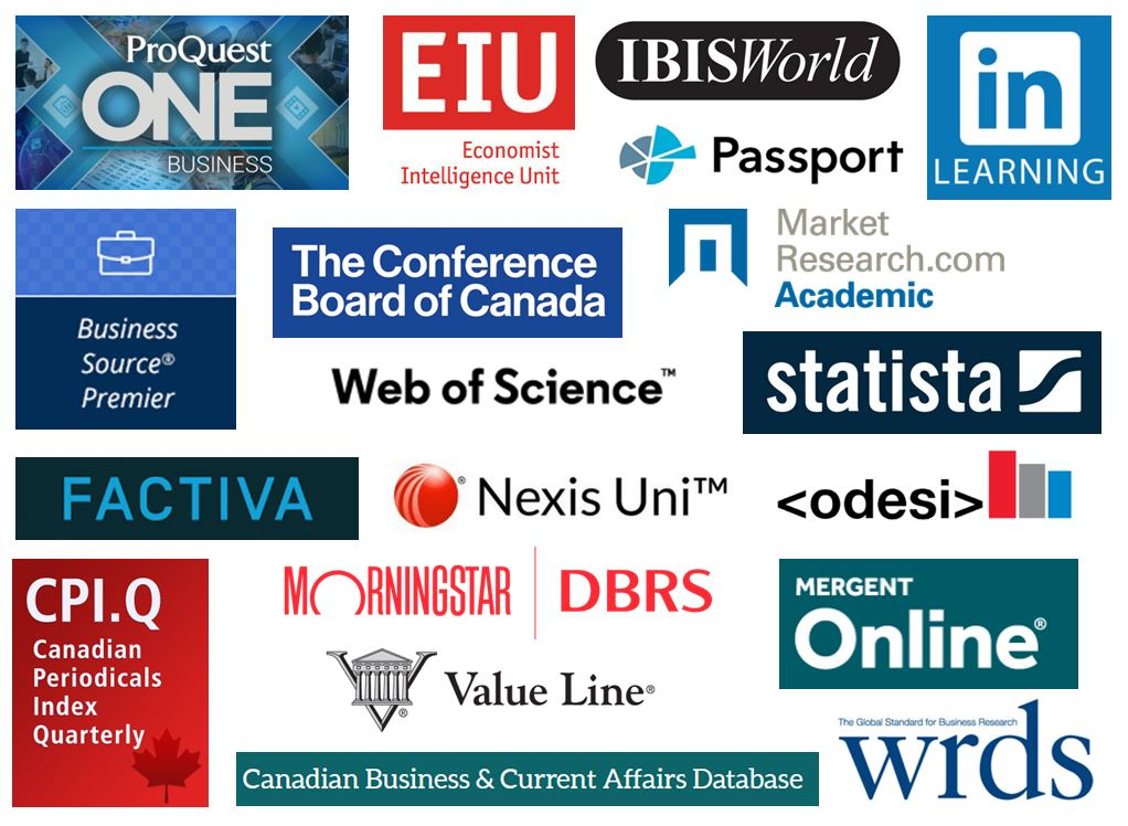 Top Business Database Logos