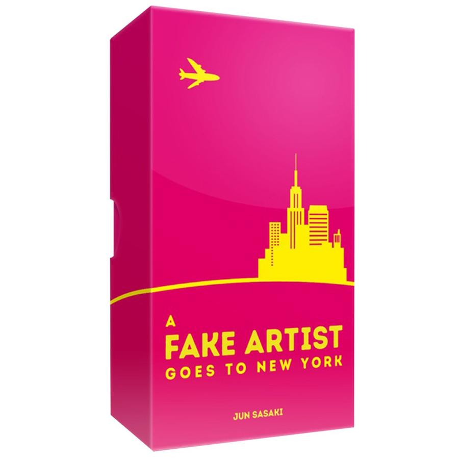 fake artist goes to NY box image cover