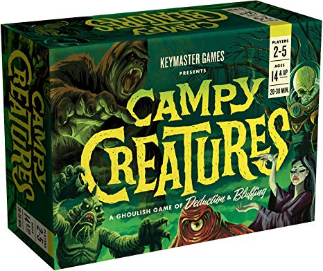 campy creatures box cover image