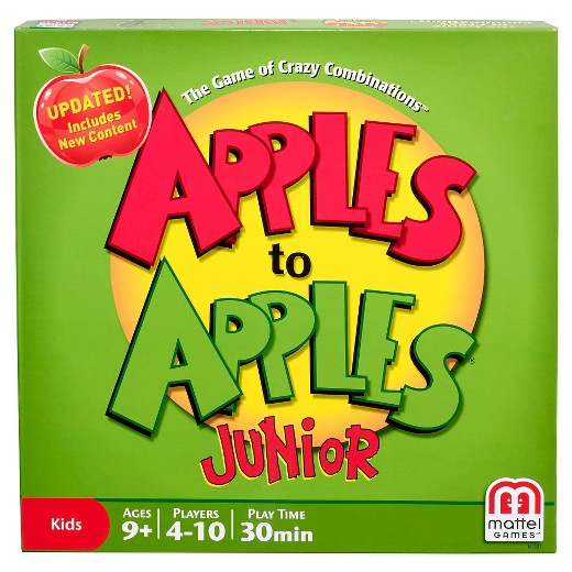 apples to apples junior box image cover