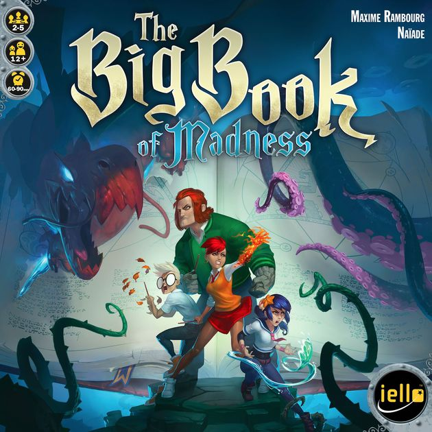big book of madness box cover image