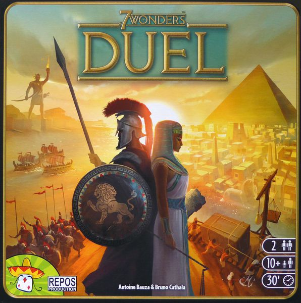 7 Wonders Duel box cover image
