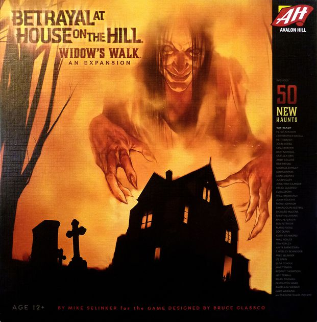 betrayal at house on hill box cover image