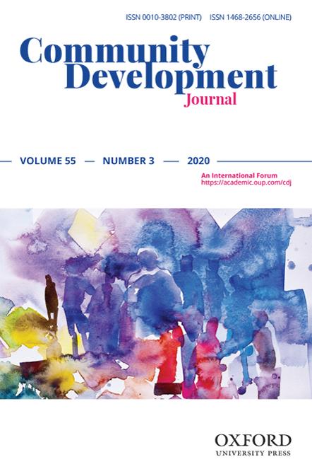 Cover art for Community Development Journal