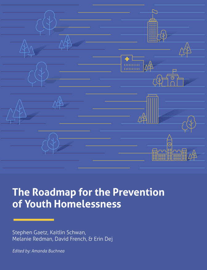 Cover Art for The Roadmap for the Prevention of Youth Homelessness
