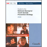 Cover Art National Aboriginal Youth Suicide Prevention Strategy